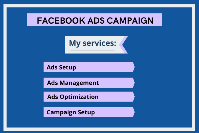 I will manage your Facebook ads campaign