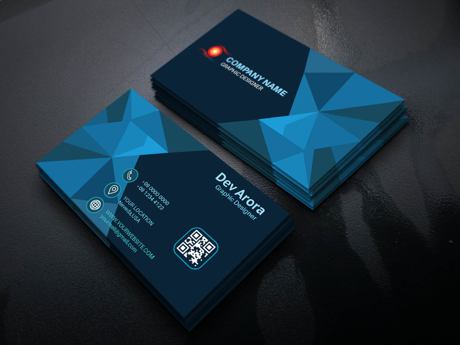 I will design professional and creative business card.