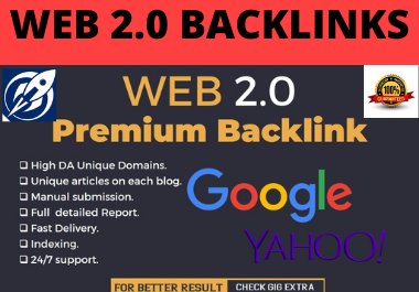 I will provide 80 high quality web 2.0 backlinks for adult websites