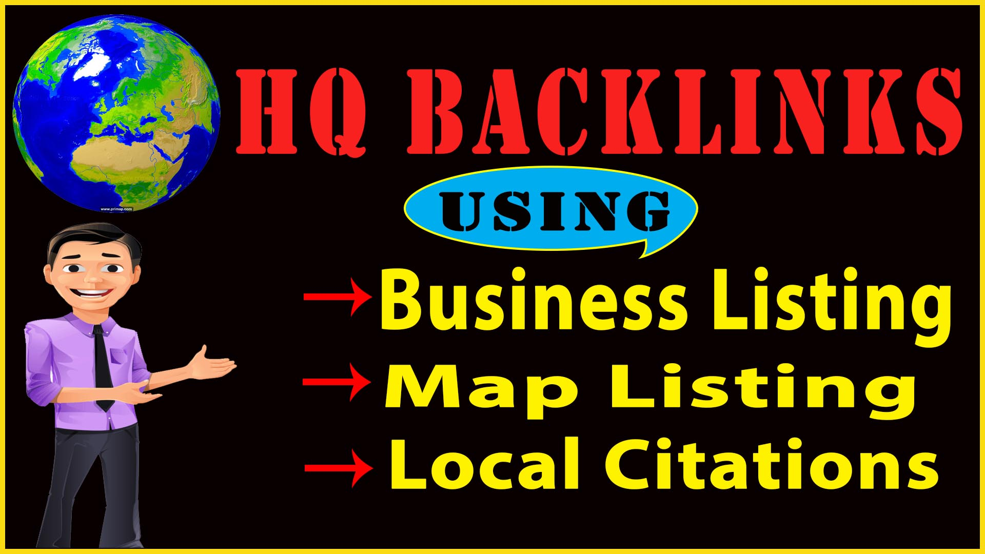 I will do 15 Manually top local directories citations,  business Listing,  maps listing