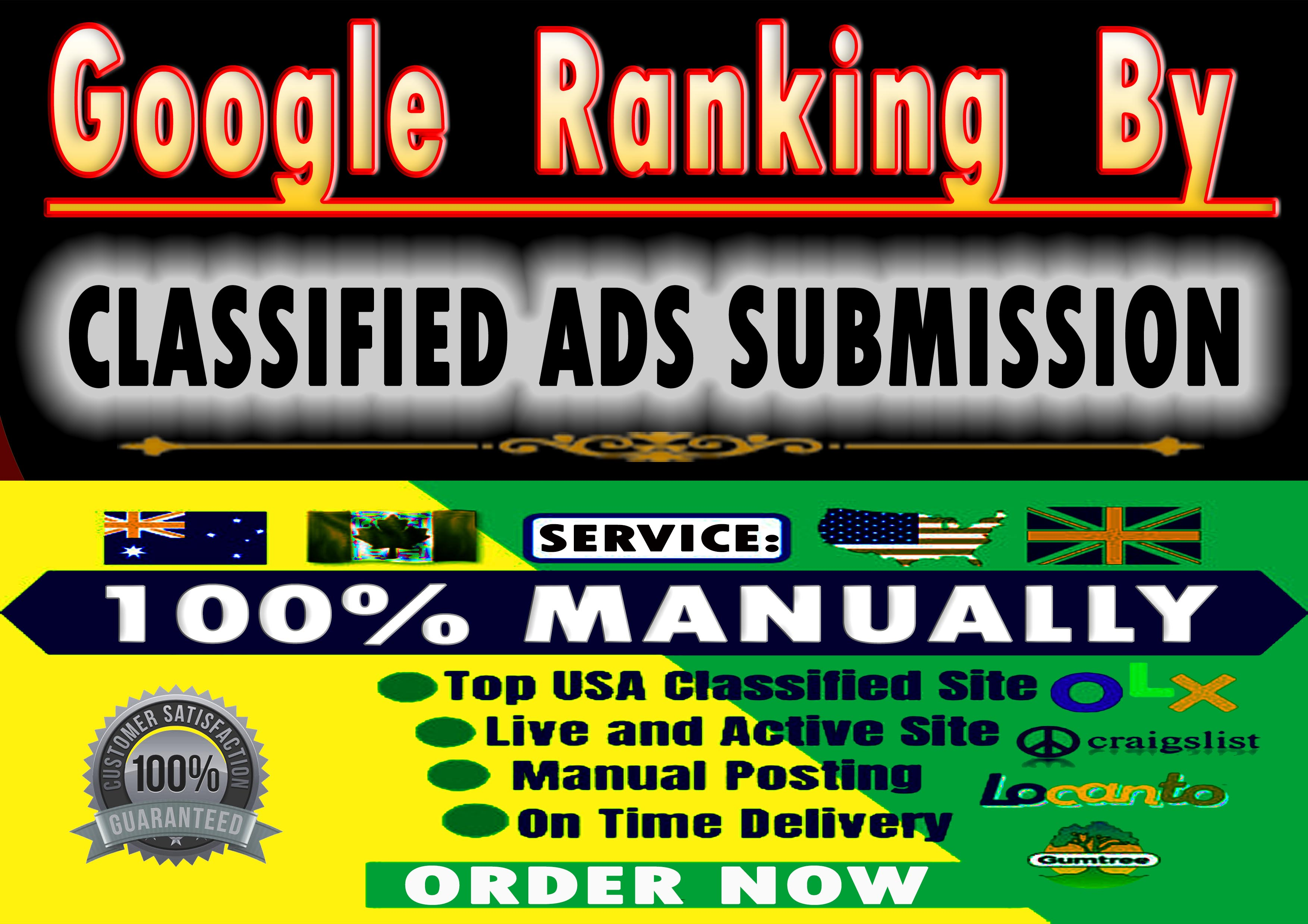 I Will do 30 Classified Ads Posting For SEO Backlinks