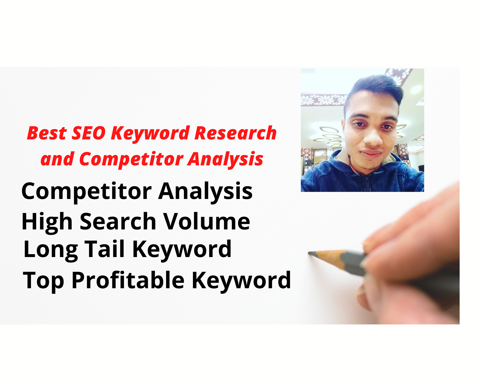 I do Best SEO keyword research and competitor analysis