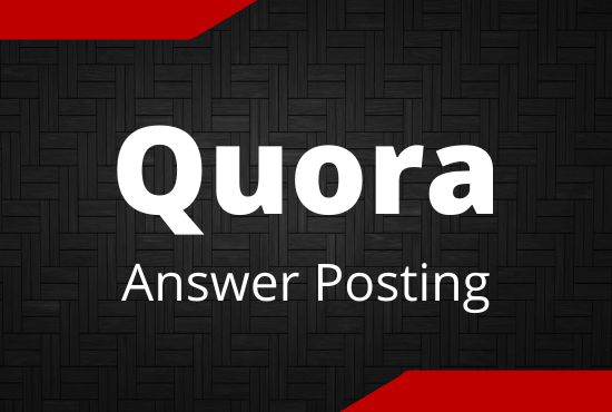 Guaranteed Promote your website in 5 Quora Answers with contextual link