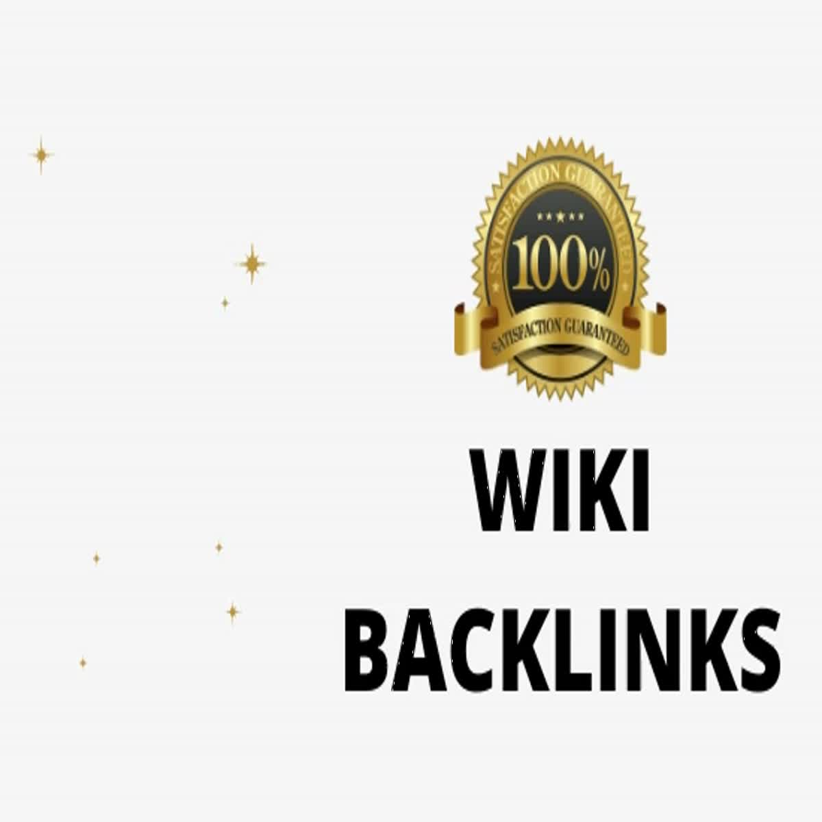 I can provide you with 1500 wiki backlinks mixed profiles and articles
