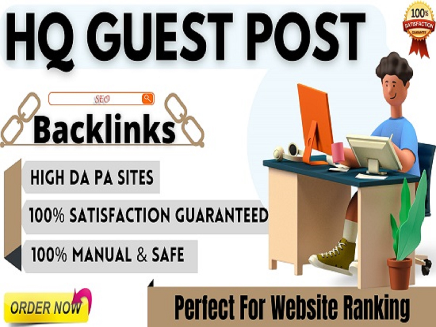 I Will Write and Publish 15 HQ Guest Posts On High Authority Websites with Do Follow Backlinks