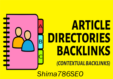 I Will Do 4,999 Article directories H.Q. backlinks Improvement Your Rank.