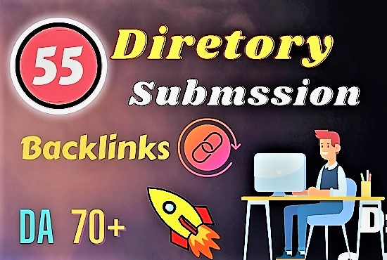 I will do 55 web directory submission Instant Approve backlinks manually