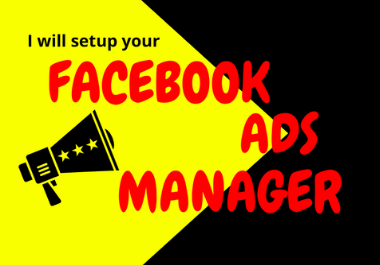 I will be your Facebook Ads Manager with the specific audience