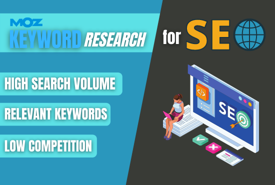 I will find best researched low competition keywords for ranking