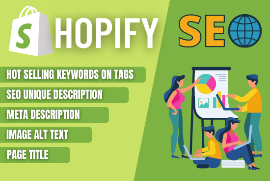 I will do complete SEO of shopify store to increase sales
