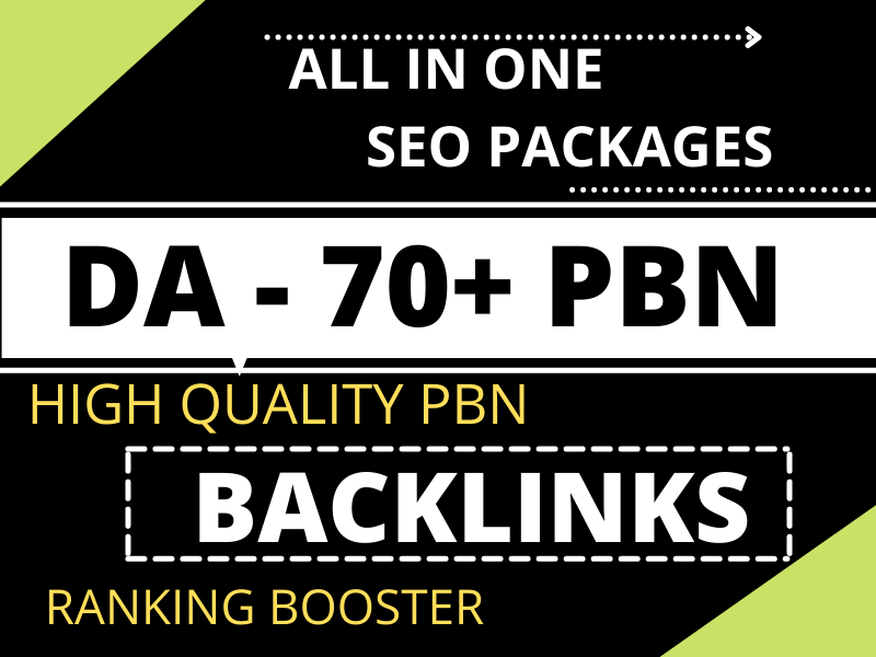 Extremely powerful SEO packages with high-quality ranking guaranteed result