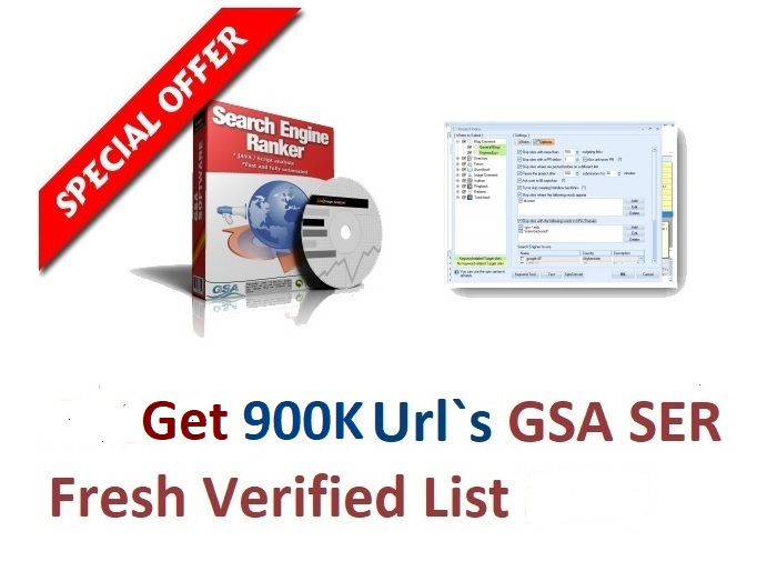 I will provide 900k May 2021 gsa ser verified urls list