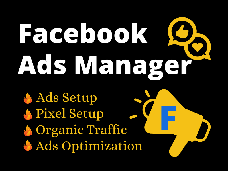 I will be your Facebook ads manager and promote facebook ads campaign