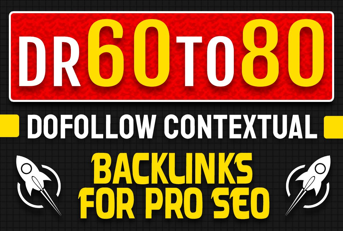 I will make 1000 high domain rating dofollow backlinks for pro off page seo