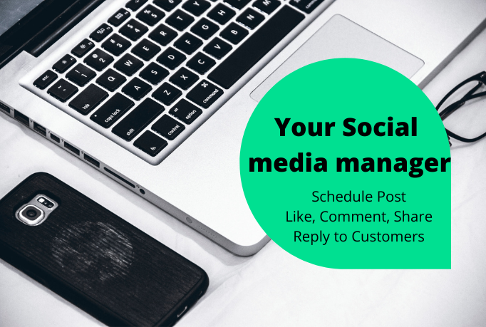 I will be your virtual assistant and social media manager.
