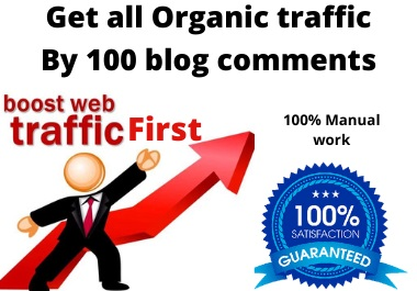 I will Submit Manually 100 Blog Comments Backlinks