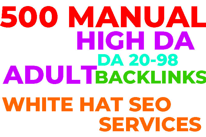 I will improve high authority adultity backlinks index SEO traffic for google ranking