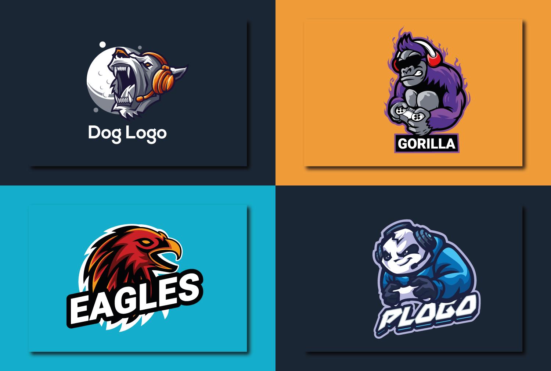 I will design unique gaming logo