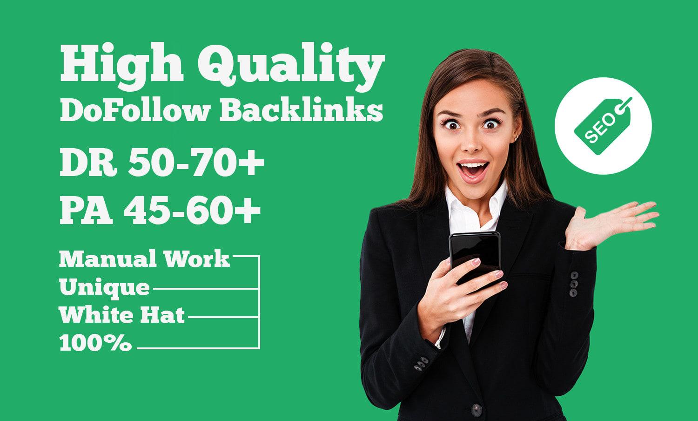 build 999 dofollow SEO backlinks for google top rankings