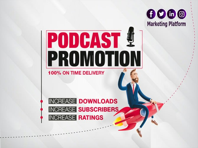 I will promote your podcast for real audience and lots of downloads
