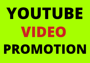 High quality video promotion in social media marketing