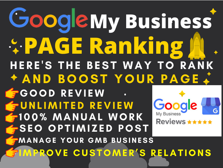 I will Provide 20 google my business page professional ranking