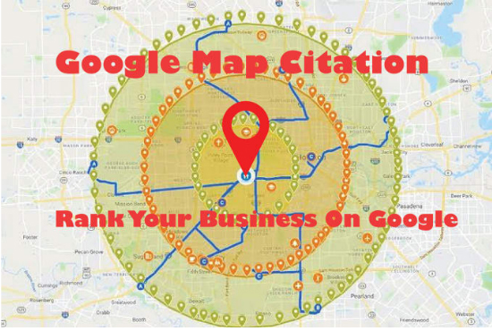 Manual 1500 Google maps Citation for local SEO and google my business page local citation