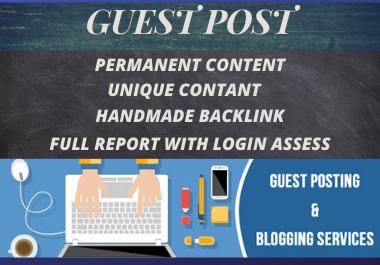 Get 20 Guest Posts On High DA Sites Unique Content Dofollow Backlinks