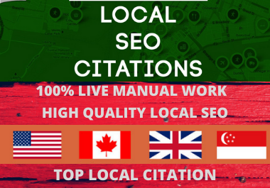 110 Google Maps Citation for local seo to rank your google business page backlinks