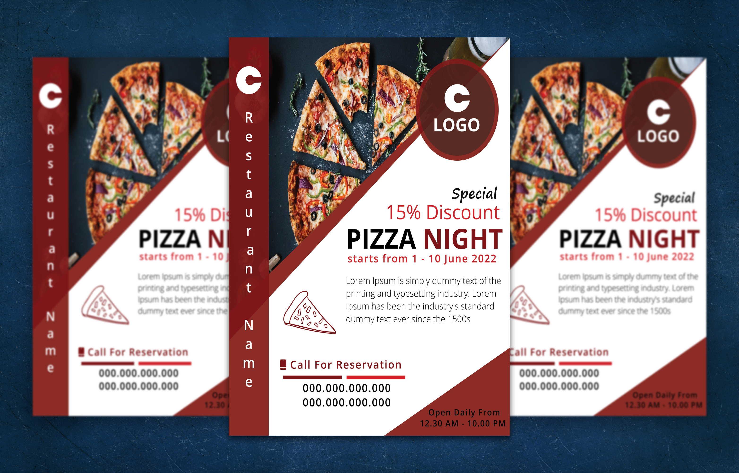 i will create professional business flyer design