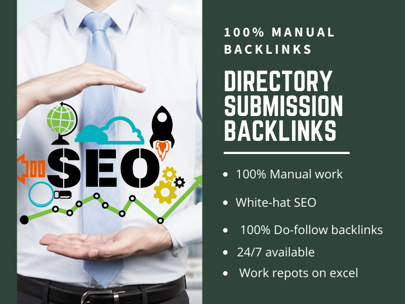 I will create 30 high authority dofollow directory submission backlinks on high DA sites