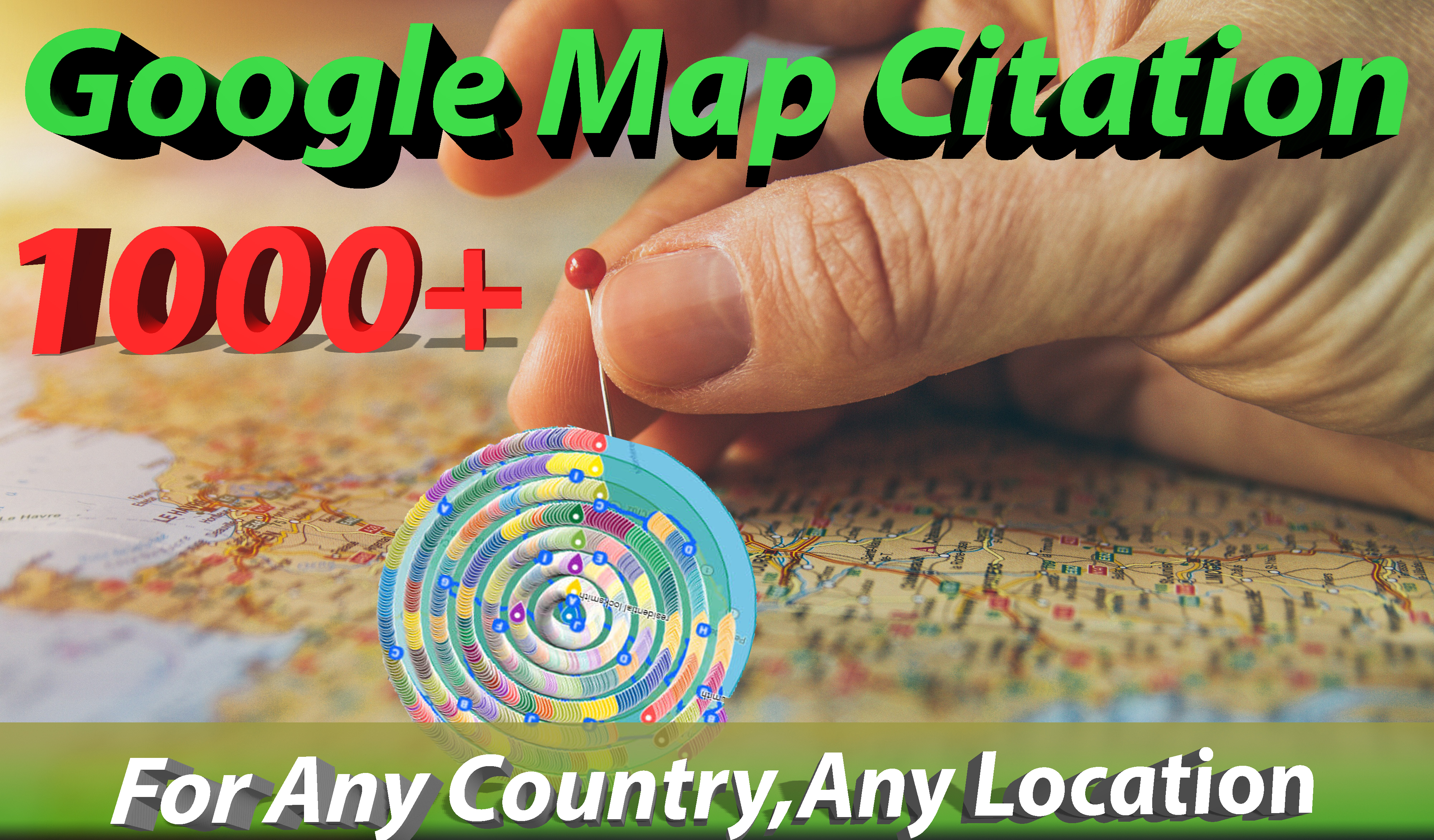 I will create 1000 google map citations to rank your gmb higher