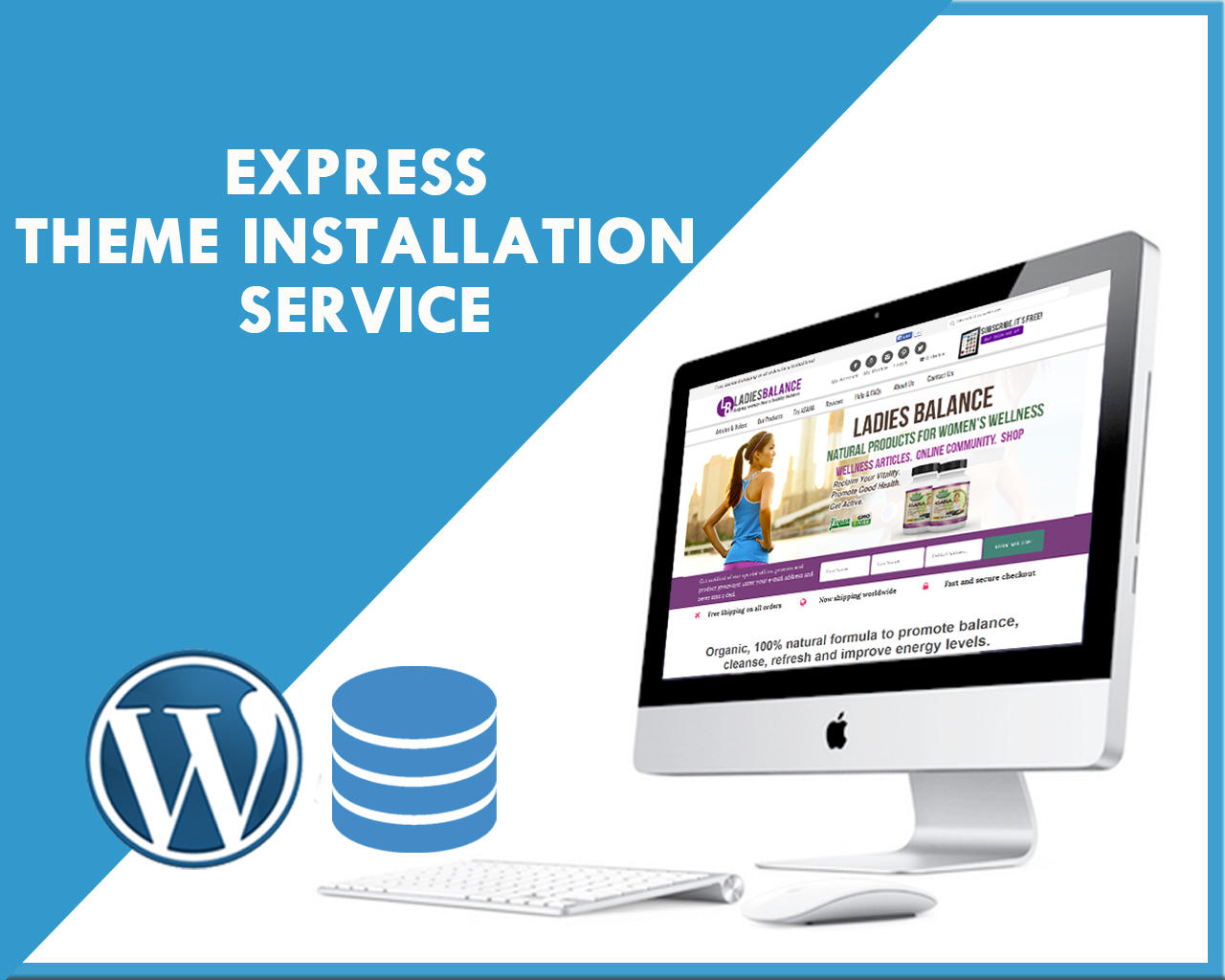 Full Website Creation I will design responsive wordpress website with ecommerce and blog