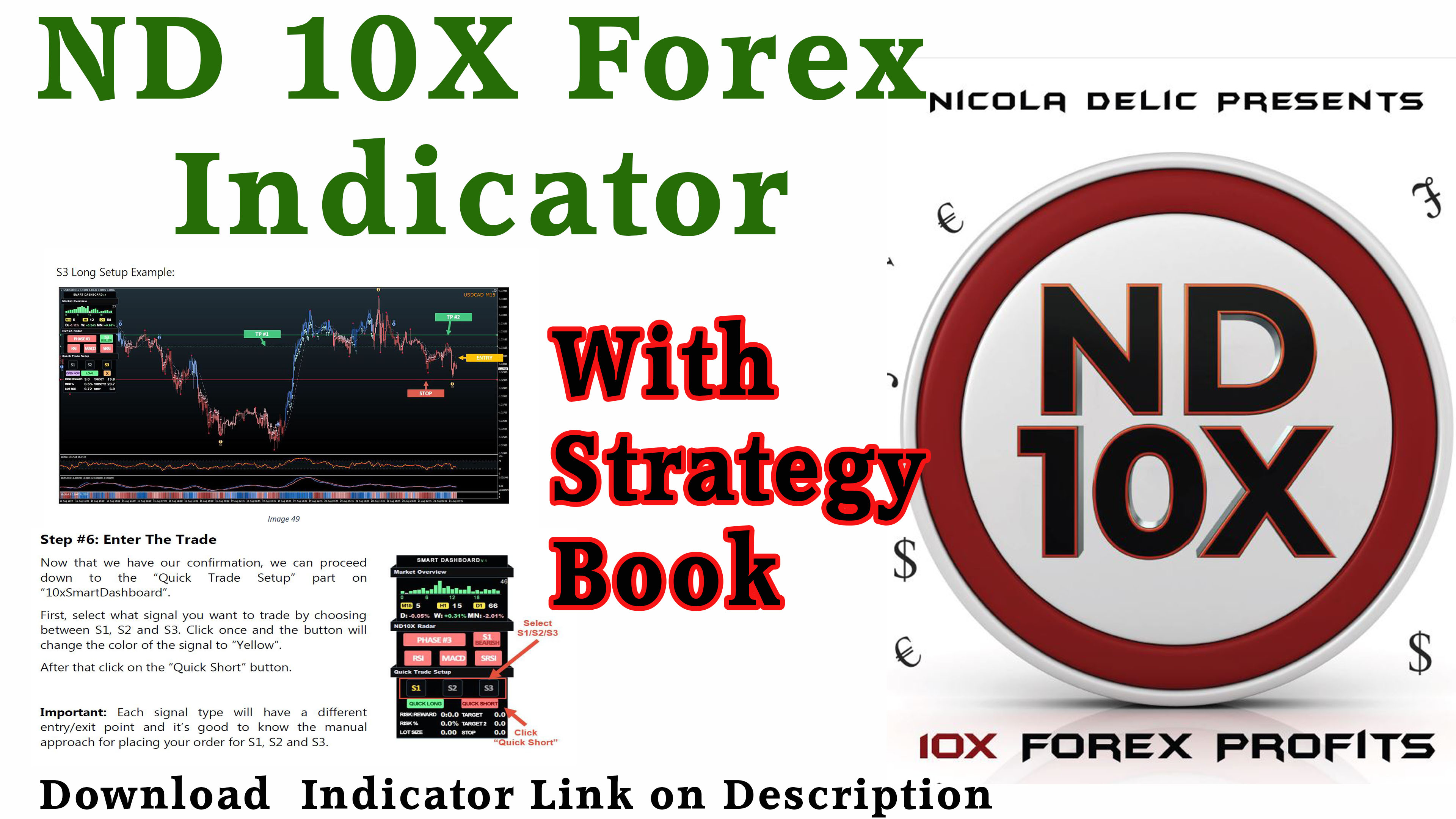 I will sell my nd10x forex mt4 indicator with