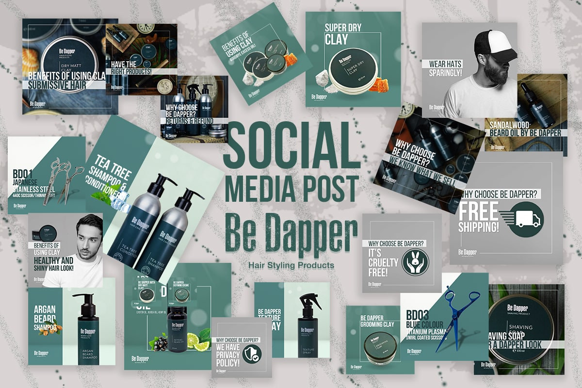 I will create unique social media posts designs