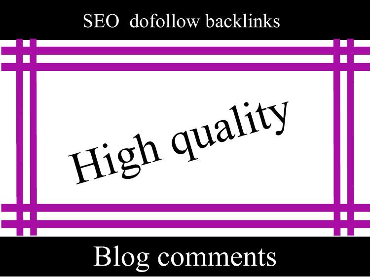 I will do 300 unique SEO dofollow blog comments backlinks DA 40+