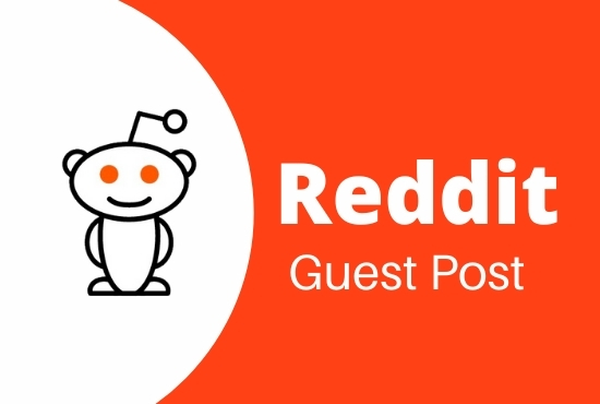 I will do Promote Your Website With High-Quality 5 Reddit Guest Post on DA and Pa