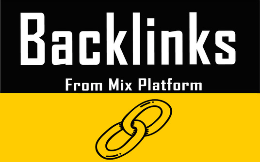 i will create mix links for your website