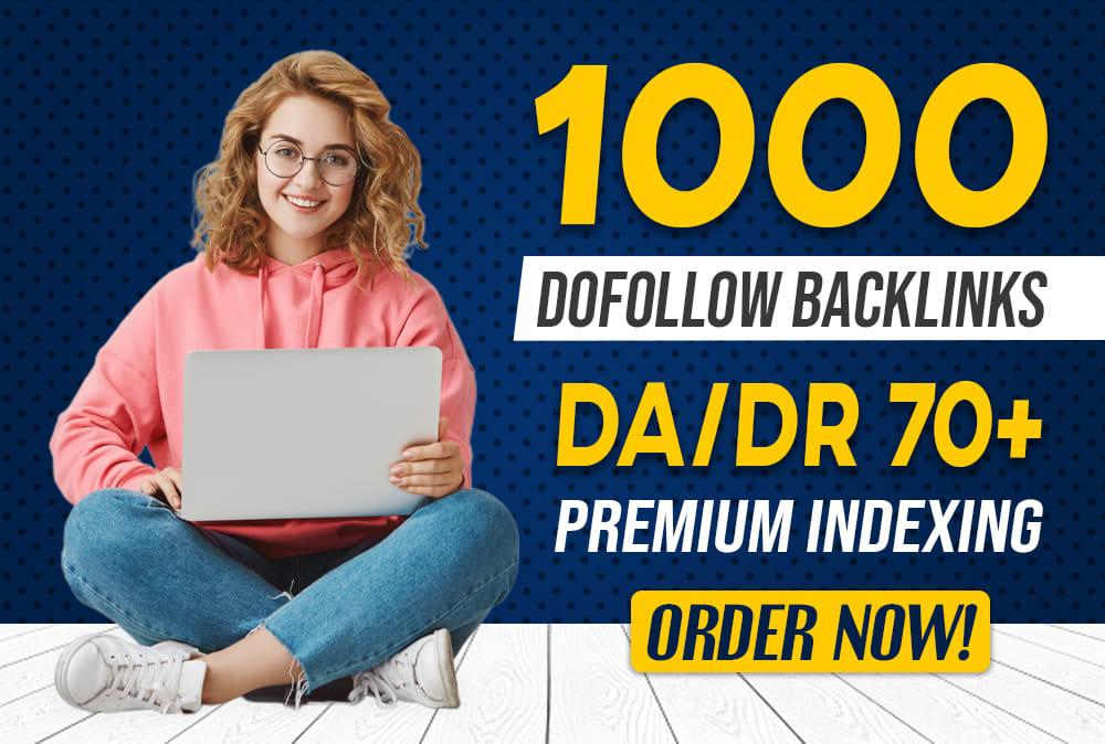 I will provide 1000 dofollow blog comment backlinks