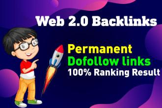 I will make 50 manual web2 0 super buffer blog high authority backlinks