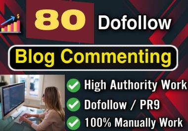 80 Unique High Quality Manual Niche Relevant Blog Commenting Service