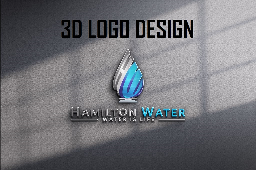 I will design professional 3d logo for you with HQ file