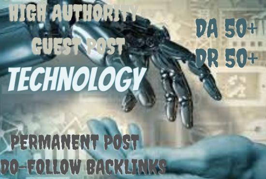 I Will do high DA guest post Technology