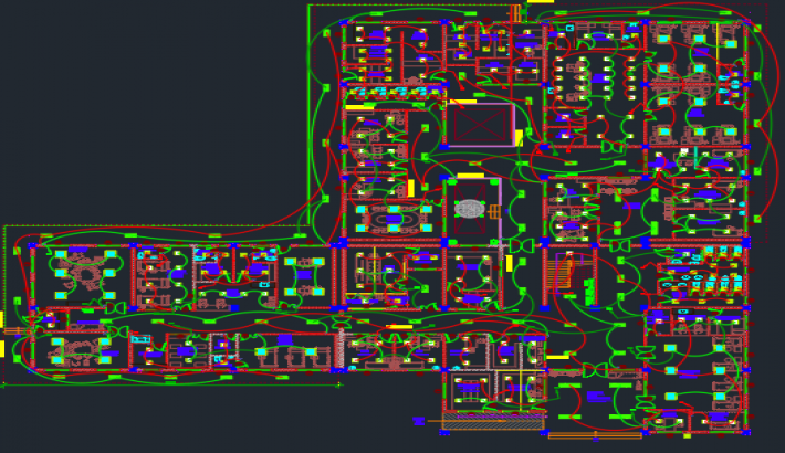 I will do detailed autocad electrical drawings and design for a given floor plan