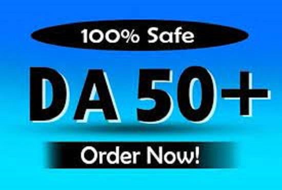 I will provide you domain authority 50 plus high quality pbn backlinks