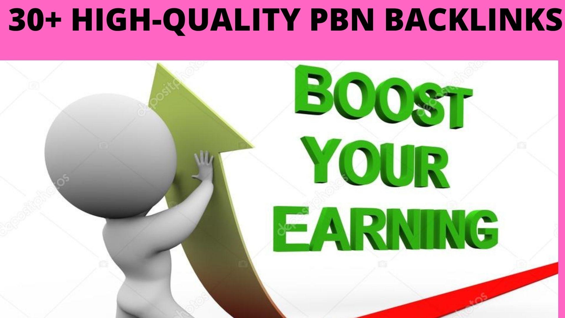 Get 30+ High DA 60+ PBN Backlink to Rank Your Website by better solution.