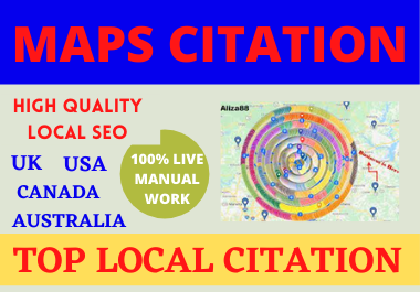 I will 200+ create GoogleMaps in Different places for your Google Places
