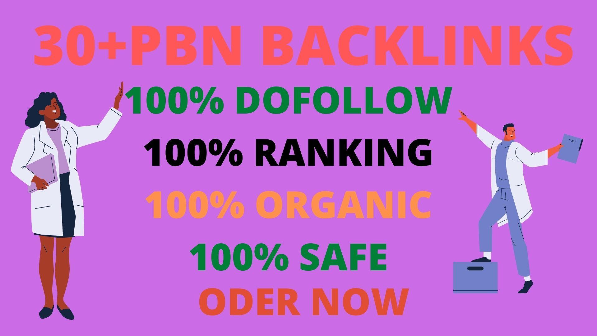 Get 30+High DA 60+PBN Backlink to Rank Your Website