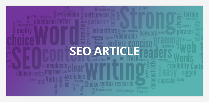 I will do SEO Article or content writing