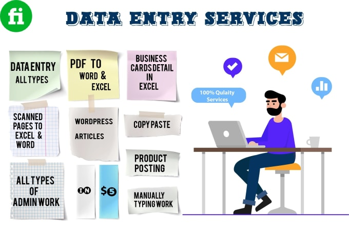 Be Your Data Entry / Virtual Assistant